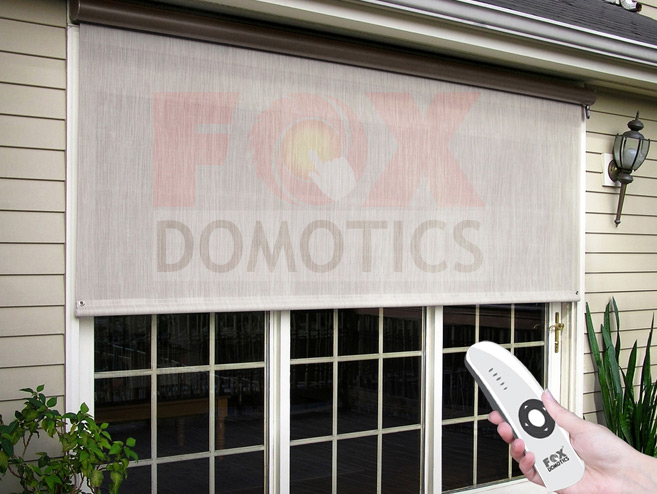 motorised roller blinds, mumbai, india.